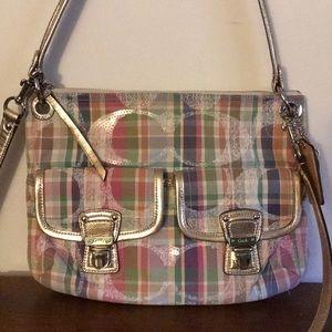 Coach tartan bag